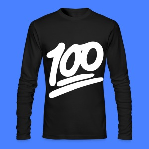1 to 100 Long Sleeve Shirts - Men's Long Sleeve T-Shirt by Next Level