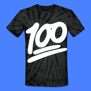 1 to 100 T-Shirts - Unisex Tie Dye T-Shirt