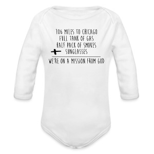 We're On A Mission - Long Sleeve Baby Bodysuit