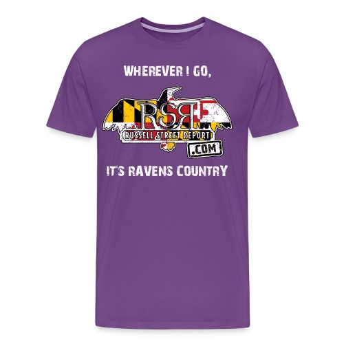Ravens Country RSR - Men's Premium T-Shirt