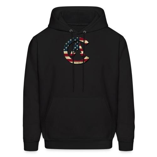 USA Logo Hoodie - Men's Hoodie