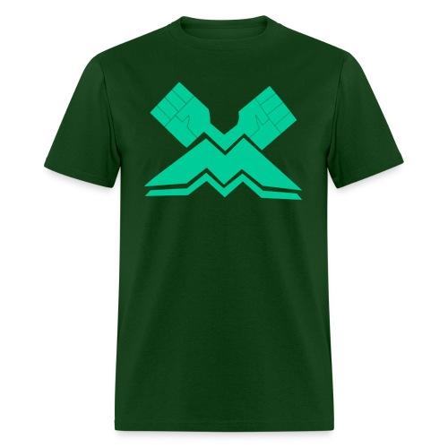 McFist Industries Tee - McFist Green - Men's T-Shirt