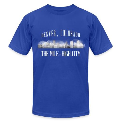 The Mile High City - Men's Fine Jersey T-Shirt