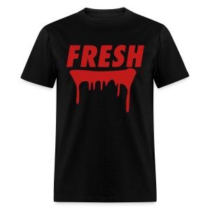 the fresh tee in red glitz - Men's T-Shirt
