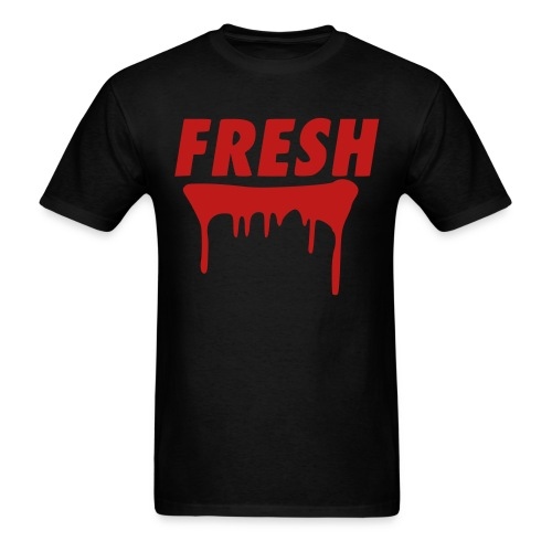 the fresh tee in red glitz - Men's T-Shirt