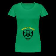 T-Shirts ~ Women's Premium T-Shirt ~ Maternity Soccer (non maternity shirt)