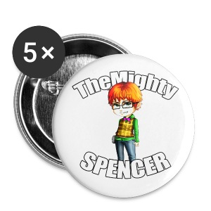 The Mighty Spencer Buttons - Large Buttons