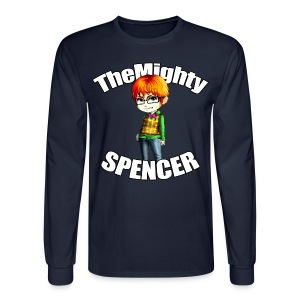 The Mighty Spencer - K Long Sleeve T - Men's Long Sleeve T-Shirt
