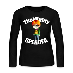 The Mighty Spencer - W Long Sleeve T - Women's Long Sleeve Jersey T-Shirt