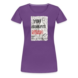You  ute Nerd - Women's Premium T-Shirt