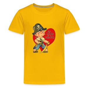Daddy is a Pirate - Kids' Premium T-Shirt