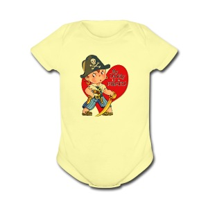 Landon's Little Girl - Short Sleeve Baby Bodysuit