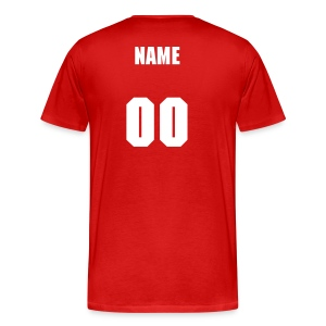 Men's Premium T-Shirt - Enter the name and number to customize!