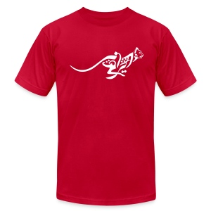 Blazing cheetah simple men's tee - Men's Fine Jersey T-Shirt