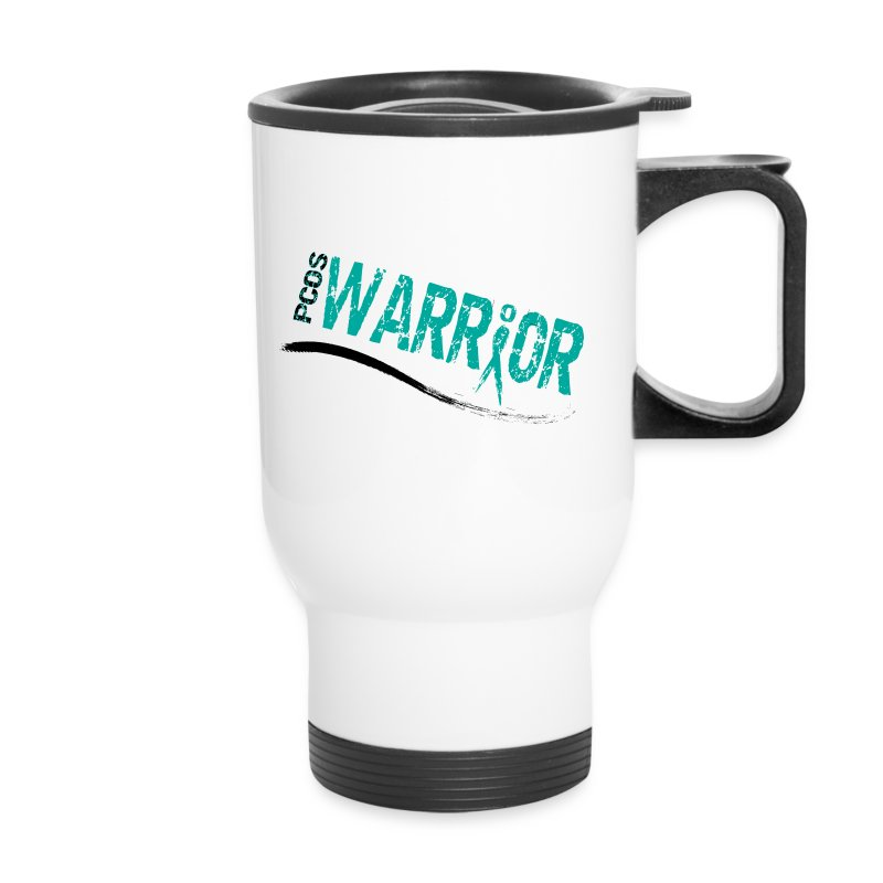 PCOS Warrior Travel Mug - Travel Mug