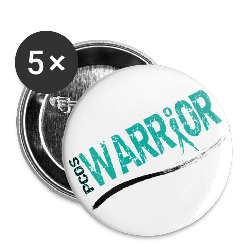 PCOS Warrior Pins (5pc) - Small Buttons