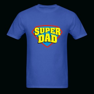 Super Dad Shield  - Men's T-Shirt