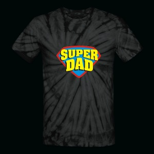 SUPER DAD! - Unisex Tie Dye T-Shirt