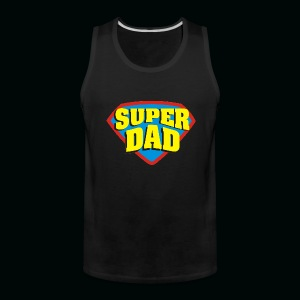 SUPER DAD! - Men's Premium Tank