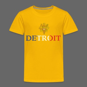 Detroit French COA - Toddler Premium T-Shirt