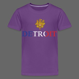 Detroit French COA - Kids' Premium T-Shirt
