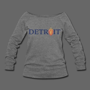 Detroit Norway COA - Women's Wideneck Sweatshirt