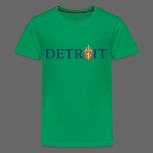 Detroit Norway COA - Kids' Premium T-Shirt