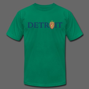 Detroit Norway COA - Men's T-Shirt by American Apparel