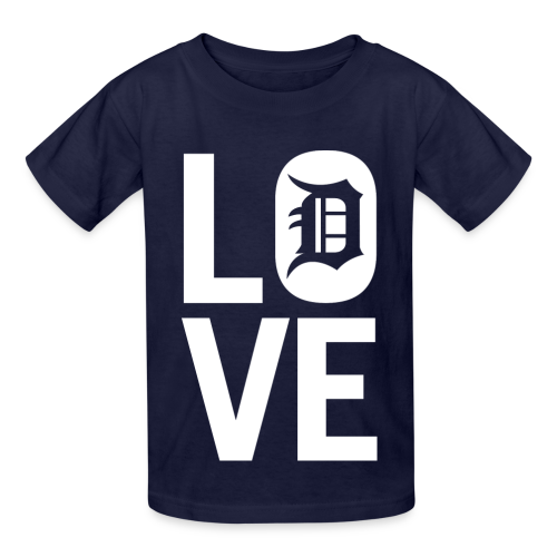 DETROIT LOVE - Kids' T-Shirt