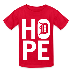 HOPE IN DETROIT - Kids' T-Shirt