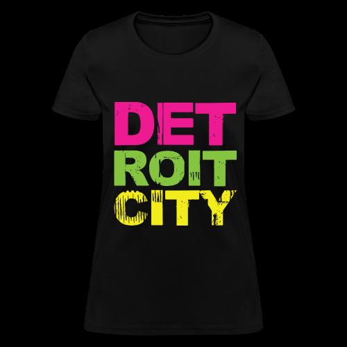 DETROIT CITY - Women's T-Shirt