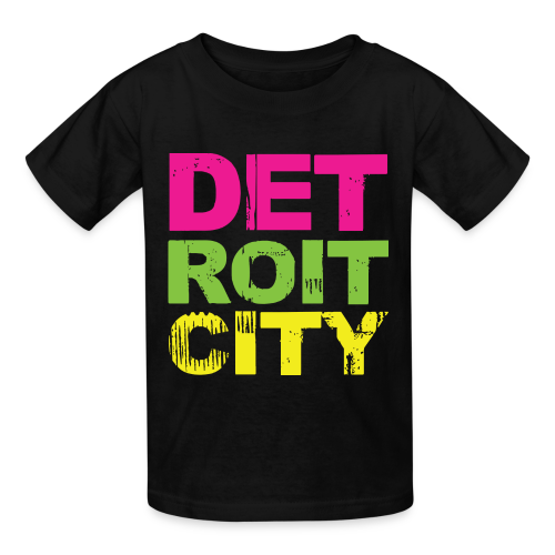 DETROIT CITY - Kids' T-Shirt