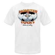 T-Shirts ~ Men's T-Shirt by American Apparel ~ Monster Cocks Original AA