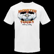 T-Shirts ~ Men's T-Shirt by American Apparel ~ Monster Cocks Original AA