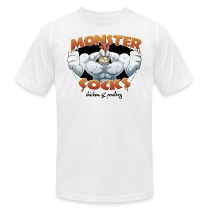 Monster Cocks Original AA - Men's T-Shirt by American Apparel