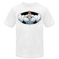 T-Shirts ~ Men's T-Shirt by American Apparel ~ Monster Cocks Original (No Balls Edition)