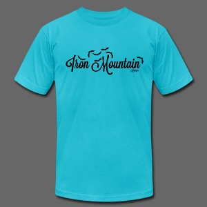 Iron Mountain - Men's T-Shirt by American Apparel