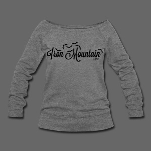 Iron Mountain - Women's Wideneck Sweatshirt