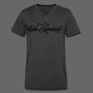 Iron Mountain - Men's V-Neck T-Shirt by Canvas