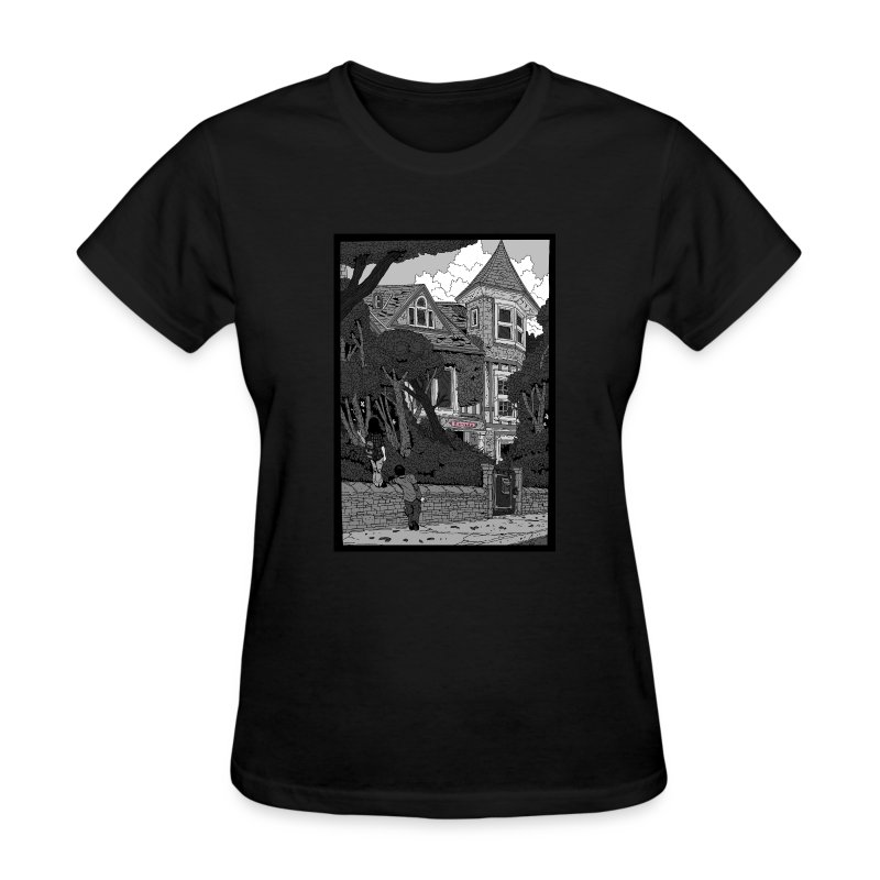 Mysterious House (women's) - Women's T-Shirt