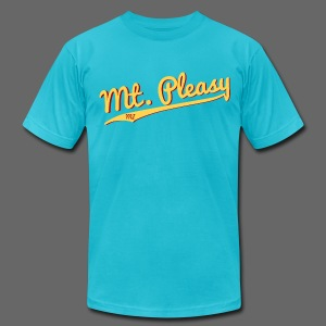 Mount Pleasy - Men's T-Shirt by American Apparel