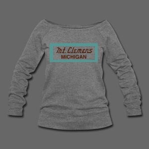 Mt. Clemens - Women's Wideneck Sweatshirt