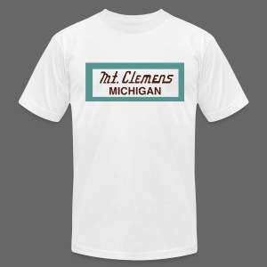 Mt. Clemens - Men's T-Shirt by American Apparel