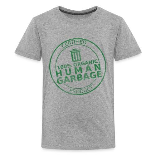 100% Human Garbage (K) - Kids' Premium T-Shirt