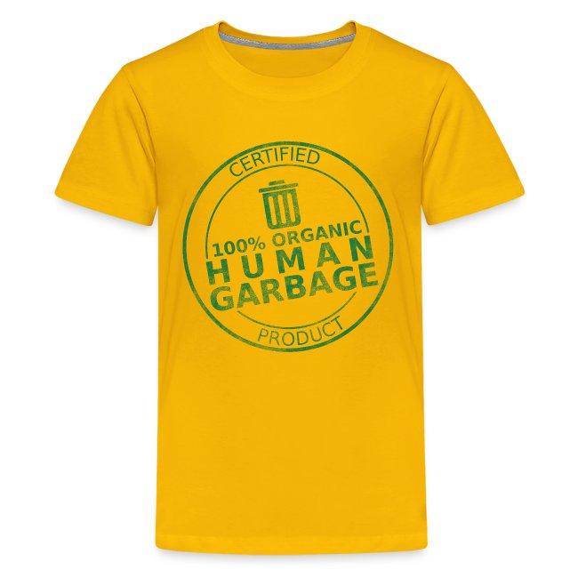 100% Human Garbage (K)