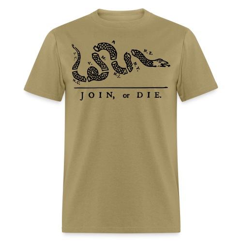Join or Die - Men's T-Shirt