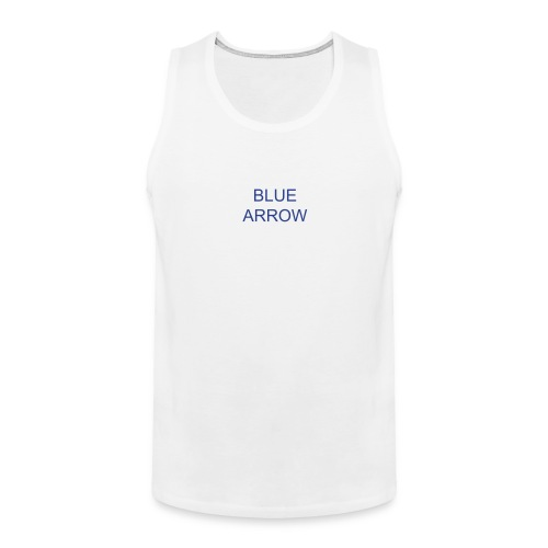 blue arrow - Men's Premium Tank