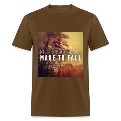 Made To Fall (Brown) 100% Preshrunk Cotton - Men's T-Shirt
