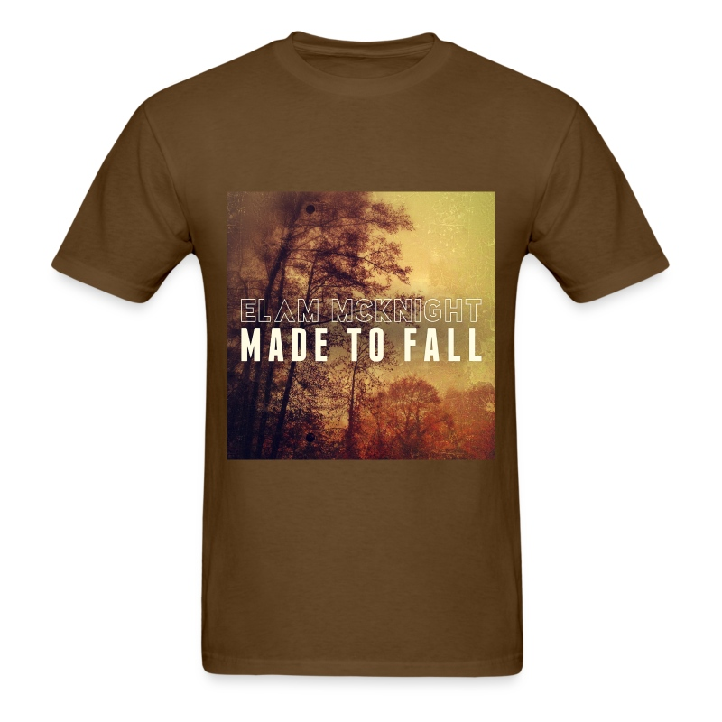 Made To Fall (Brown) 100% Preshrunk Cotton - Men's T-Shirt