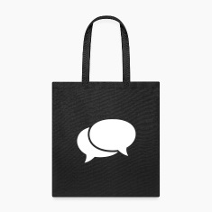 speech bubbles Bags & backpacks